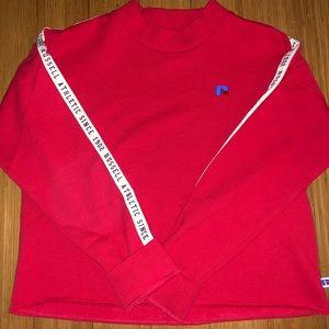Russel athletic cropped sweatshirt!